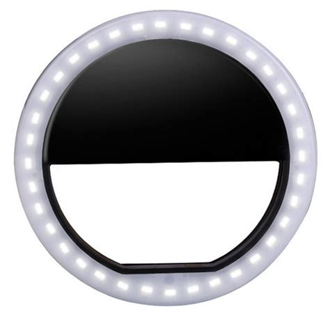 cell phone ring light portable led ring flash light photography adapter