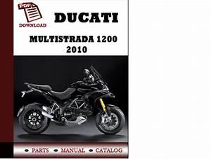 Ducati Multistrada 1200 Parts Manual  Catalogue  2010 Pdf