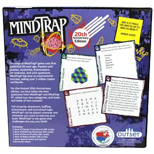 mindtrap  anniversary edition outset media games