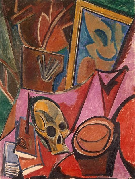 composition  skull pablo picasso hermitage museum