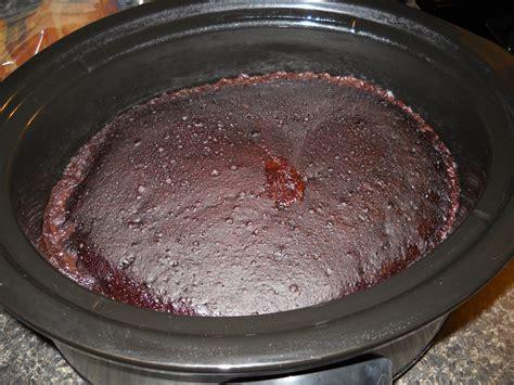 crock pot chocolate lava cake  domestic divas diary
