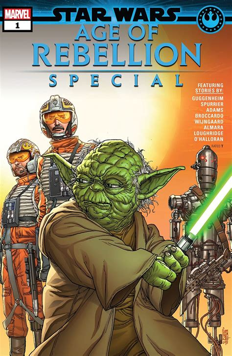 comic book preview star wars age  rebellion special
