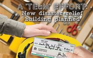 A 'TEaM' effort: New disaster relief building planned ...