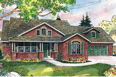craftsman house plans heartsong    designs