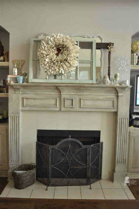 fireplace surround ideas and eye catching chalk paint furniture ideas diy projects craft ideas how