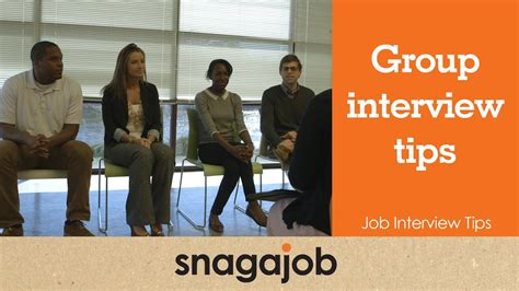 job interview tips part 4 group interview tips youtube