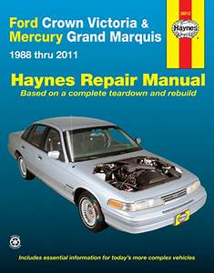 Ford Crown Victoria  U0026 Mercury Grand Marquis Haynes Repair