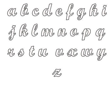 abecedarios de letras cursivas para imprimir y colorear colorear im 225 genes