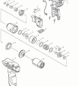 Makita Td090d Parts