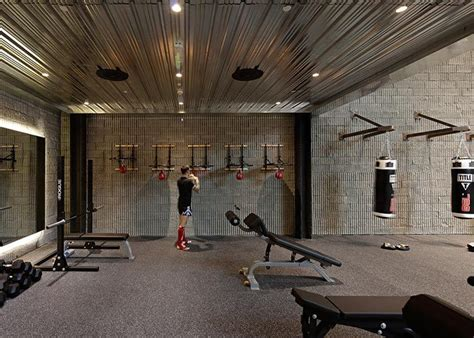 burrow kuwaits  stylish boxing gym gym gym