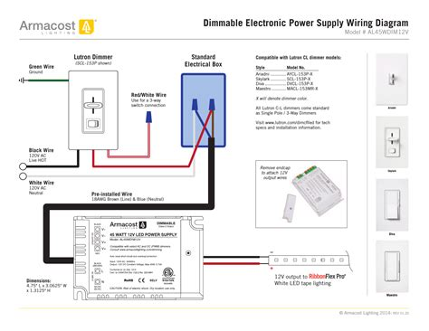Lutron Way Led Dimmer Wiring Diagram Sample