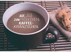 Auf, auf zum Kaffeekränzchen Einladungskarten Echte