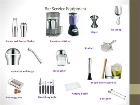 Beverage service equipment