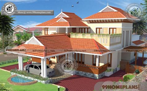 kerala nalukettu house plans  nadumuttam styles  modern homes