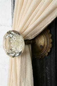 Antique Door Knob Curtain Tie-Back - 10 Trendy Home Decor