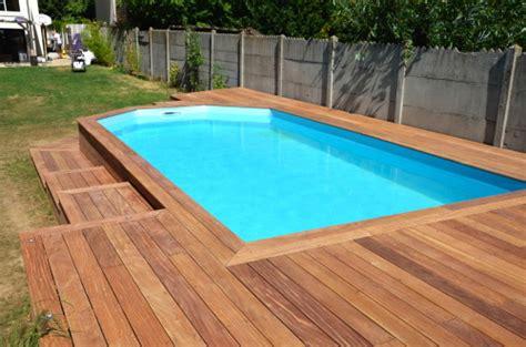 cr 233 er une terrasse en bois autour de ma piscine bassin terrasses en bois