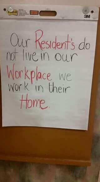 residents      workplace  work