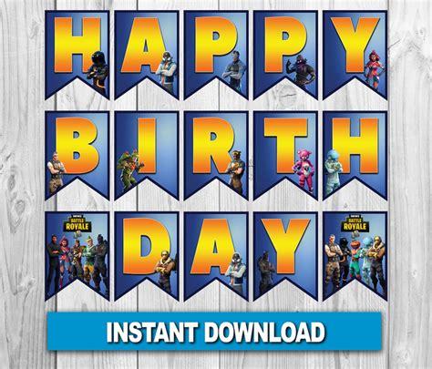 fortnite birthday banner fortnite digital