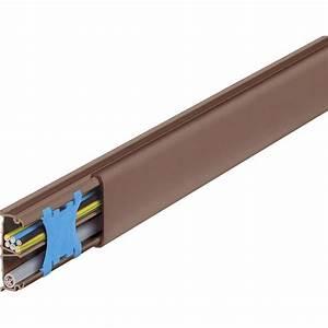 Plinthe Electrique Leroy Merlin : moulure marron pour moulure h 1 3 x p 3 2 cm leroy merlin ~ Melissatoandfro.com Idées de Décoration