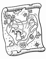 Treasure Coloring Map Maps Pdf Pirate Printable Coloringcafe Sheet Colouring Printables Crafts sketch template