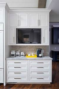 best 25 tv in kitchen ideas on pinterest kitchen tv a With kitchen colors with white cabinets with papier polaroid