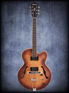 Ibanez Af55 Artcore Hollowbody Electric Guitar Tobacco