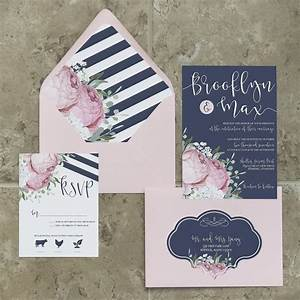 navy and blush wedding invitation navy and pink wedding With navy and blush wedding invitations uk