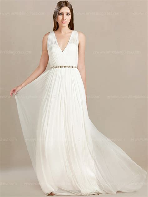 Flowy Beach Wedding Dress Project Royale