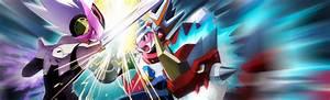 Mega Man Star Force 2 Zerker X Ninja Saurian Brainwaves