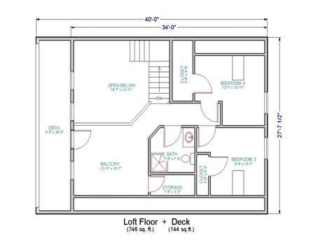 open floor plans with loft small house floor plans with loft small cottage house