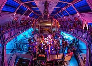 Disneyland - Space Mountain | The fisheye meets Space ...