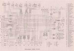 1981 Yamaha Xj550 Wiring Diagram