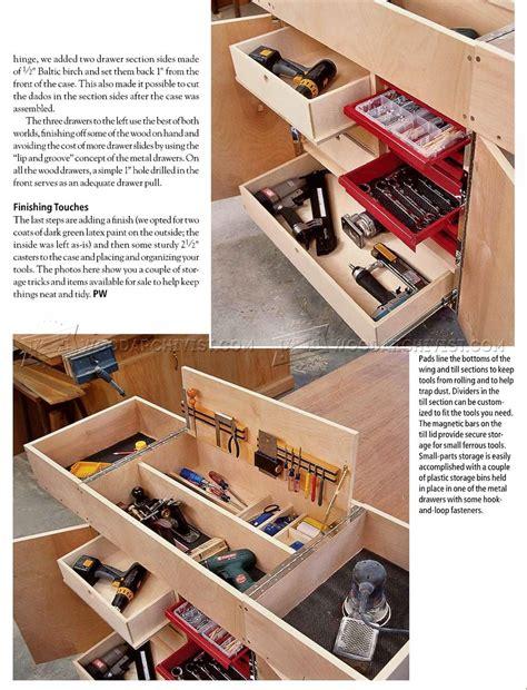 german work box plan woodarchivist