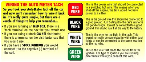 autometer  arctic white air core  dash tachometer gauge
