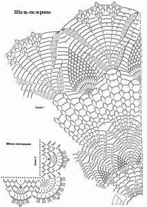 Crocheted Butterfly Shawl Pattern  U2013 Crochet Club