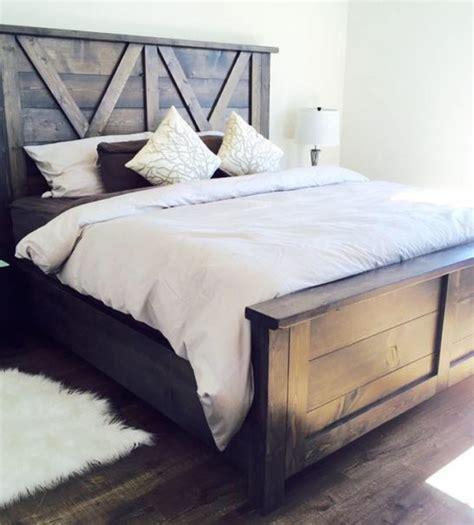 barn door bedroom set barn door farmhouse bed pine 1639