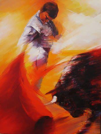 bullfighter painting amatador painter paintings