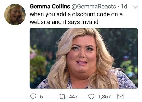 Gemma Collins Memes - 23 hilarious gemma collins memes to send in the group chat immediately celebrity heat