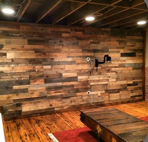 rustic wall ideas diy wood pallet wall ideas and paneling 101 pallet ideas part 4 gameroom pinterest
