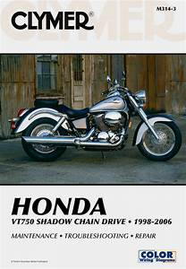 Honda Vt750 Shadow Chain Drive Motorcycle  1998