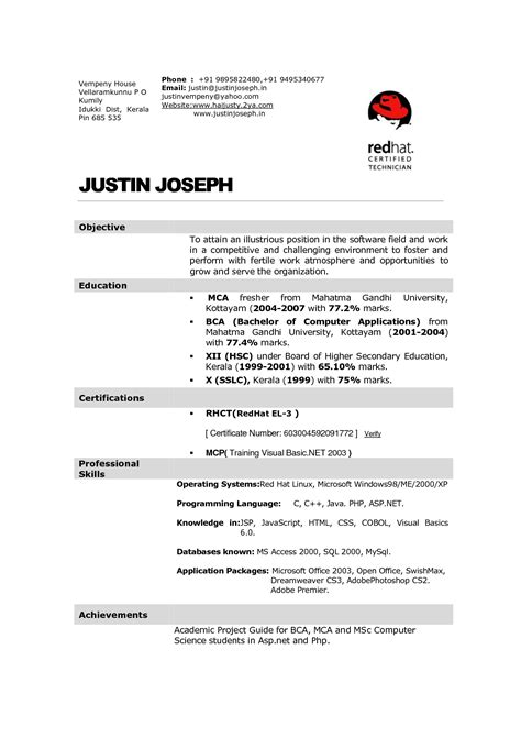 Hotel Management Resume Format Pdf | printable planner