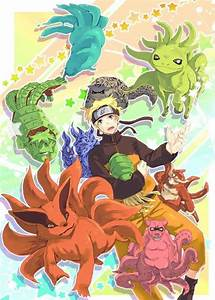 baby tailed beasts | Tumblr