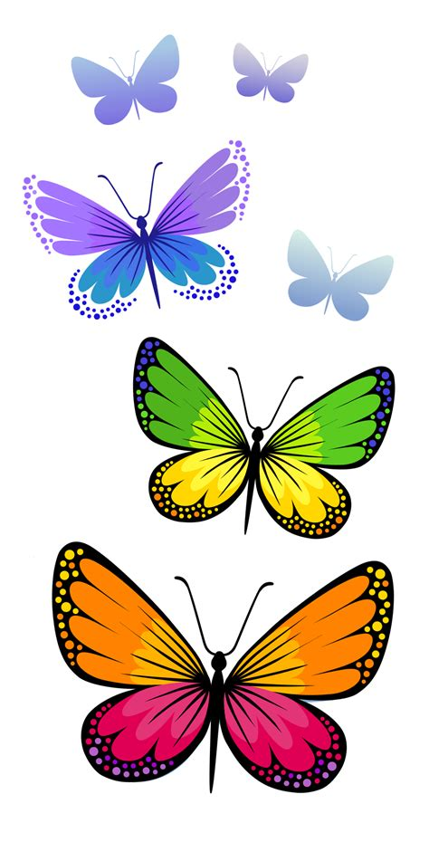 Butterfly Clip Butterflies Composition Png Clipart Image Tattoos That I