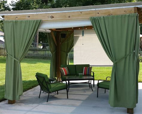 Outdoor Curtain Panels Inspiration