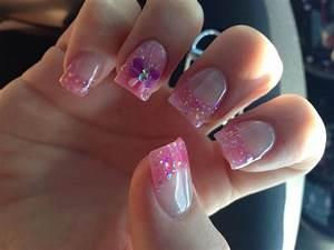 40 most amazing glitter tip nail design idea