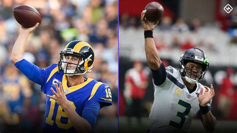 nfl  week  rams  seahawks preview statistics
