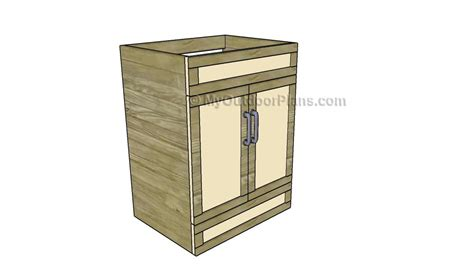 bathroom vanity plans  outdoor plans diy shed
