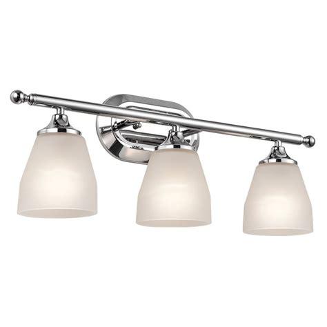 kichler vanity lights shop kichler lighting 3 light ansonia chrome modern vanity