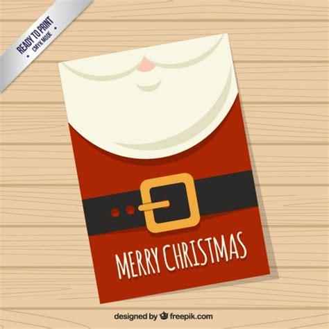 Santa Claus Card By Benchart Vectors Eps Santa Claus Card Vector Free