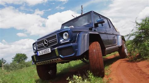 Our car experts choose every product we feature. Mercedes Maybach G 650 Landaulet in Africa | Stern Auto ...